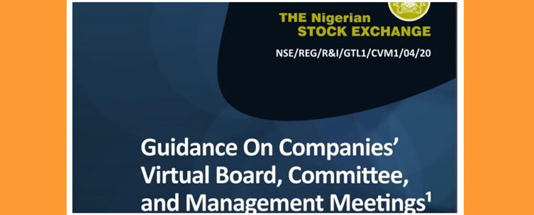Understanding The NSE Guidance For Effective Virtual Meeting Amid Covid-19