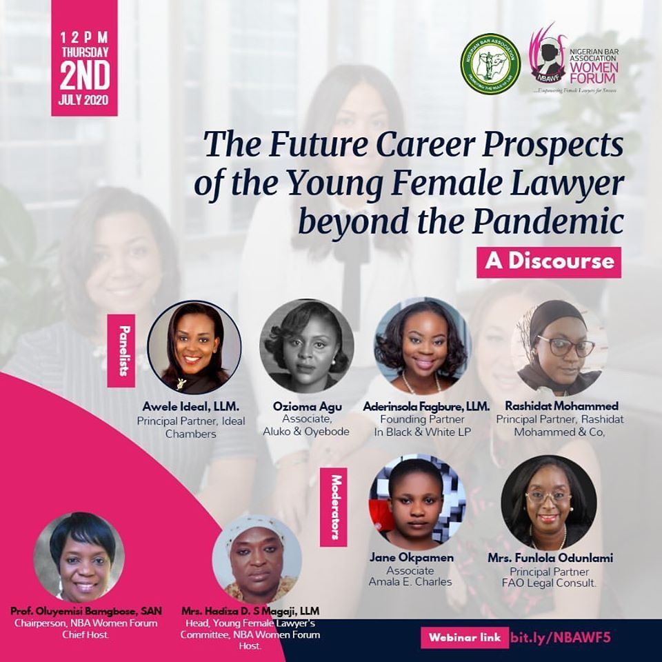 The Future Career Prospect Of The Young Female Lawyer Beyond The Pandemic: A Discourse.