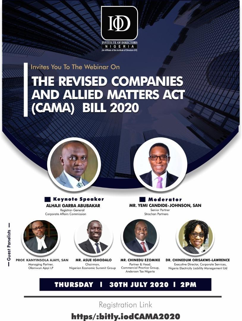 Revised Companies And Allied Matters Act (CAMA) Bill 2020