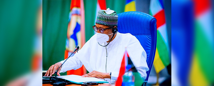Buhari Commissions 'Falcon Eye' Maritime Intelligence Facility, Says Nigerian Navy Now Capable To Combat Any Maritime Crime