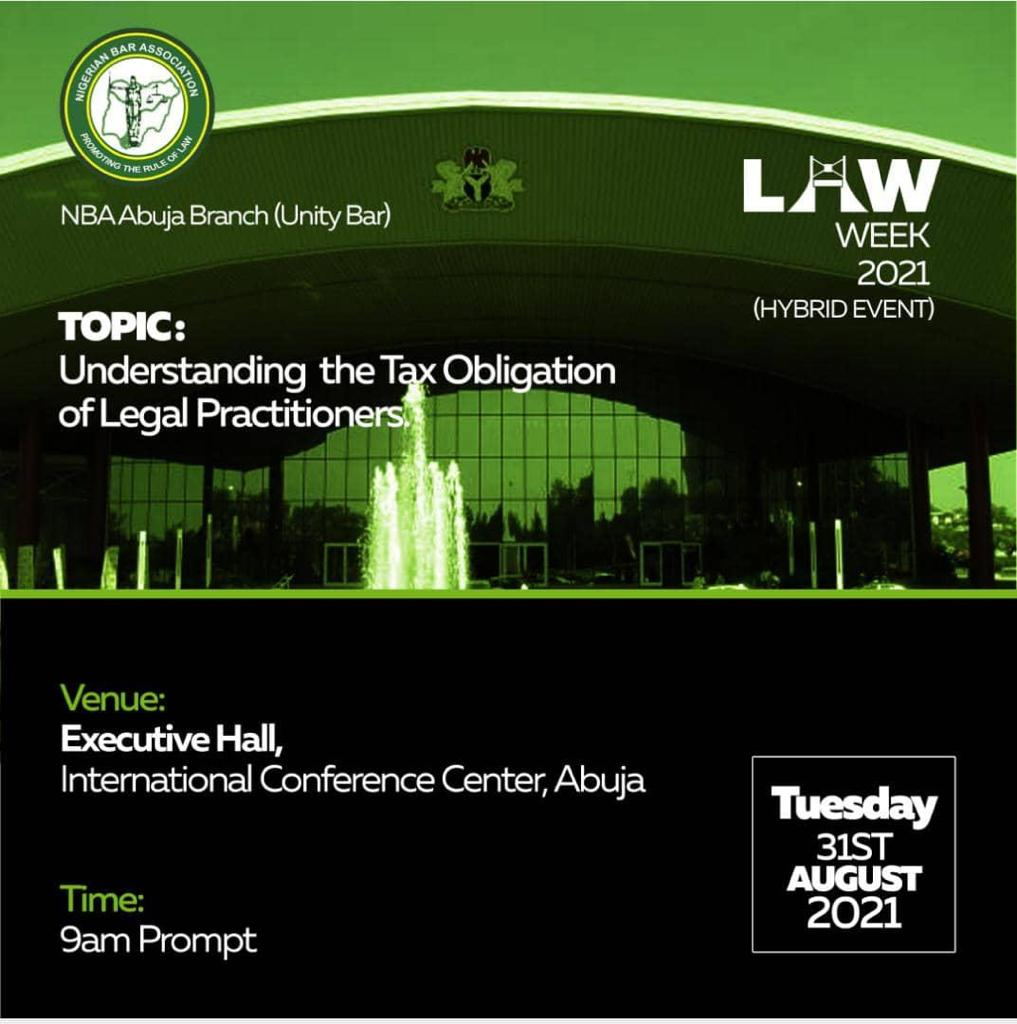 Full Schedule  For Unity Bar Law Week 2021 Day 2