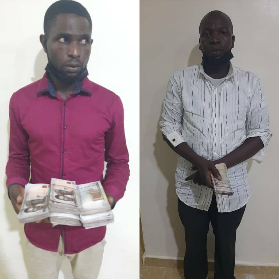 Fight Against Corruption: Two Suspect Arrested For Bribing The Lagos State Police